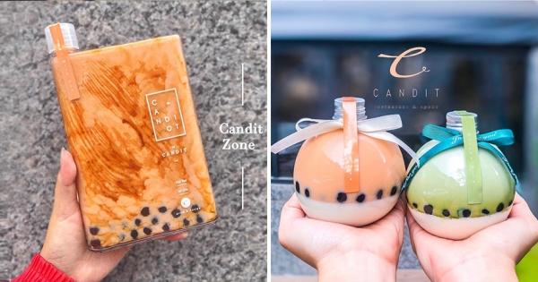 喝珍奶也能當氣質仙女~ 韓系飲料店「質感大理石紋」隨便拍都優雅