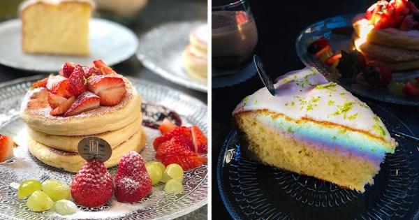 室內竟然出現彩虹?復古精美下午茶「自帶彩虹濾鏡」 茶香鬆餅好拍又好吃