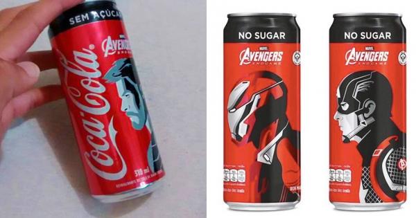 「可口可樂 x 復仇者聯盟4」限定版包裝帥翻 瓶身設計獨特「英雄都在看他」