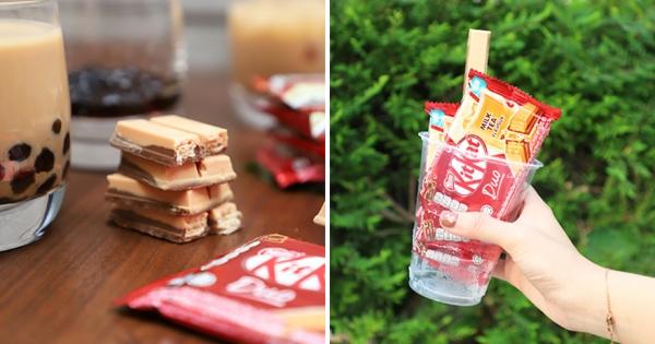 最完美奶茶零食!海外爆紅「Kitkat奶茶巧克力」 現在台灣全家獨家開賣