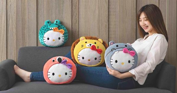 台灣限定!全球首發「麥當勞X Hello Kitty」 萌獸抱枕只有12萬個