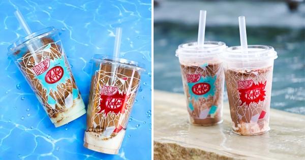 超商最強聯名「全家 x KitKat」開賣日曝光 2種「巧克力酷繽沙」根本超欠喝