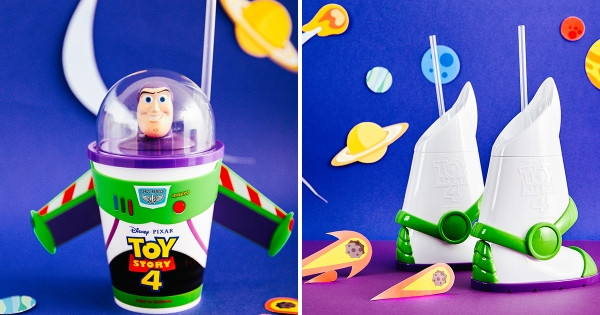 威秀獨家!限量第二波《玩具總動員》套餐 「巴斯光年造型杯」還可以玩合體!