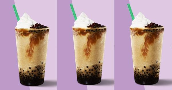 注意這不是珍珠!星巴克「星球星冰樂」咬了會爆漿 加碼5天買1送1請你喝!