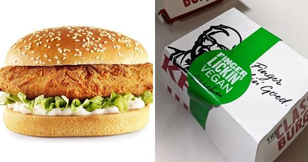 肯德基歡迎素食者! 新開發「全素漢堡」令支持者也驚艷:吃不出沒放肉