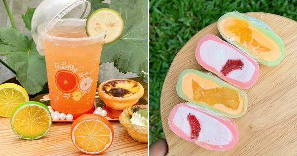 夏天就是要「柚」一下! 肯德基「網美系冰品」高顏值超好拍