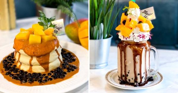 舒芙蕾疊3層太浮誇! 夏季芒果甜點「泰奶PK珍奶」來到熱帶天堂