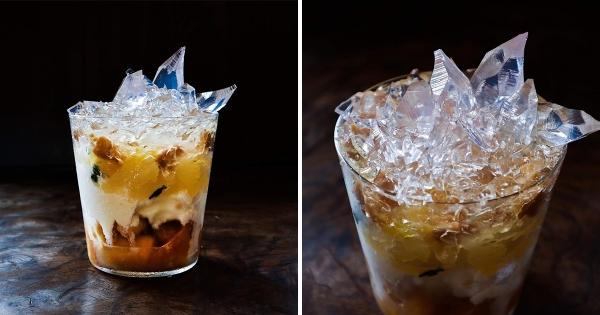 不是寶石而是飲料! 絕美「水晶聖代」免修圖就有夢幻顏值~
