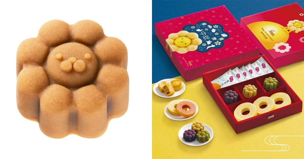 波堤獅變成月餅了! Mister Donut 限量「中秋和菓子」團購還享73折