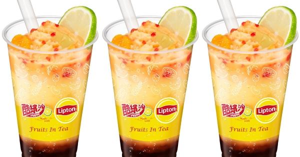 全家「水果茶氣泡酷繽沙」冒泡登場 「漸層色系+酸甜口味」網美最愛