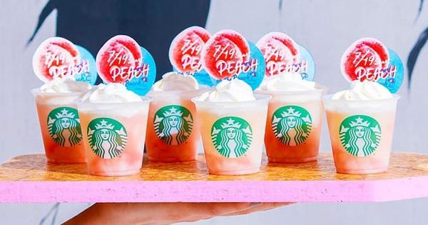 史上最粉嫩!星巴克「水蜜桃星冰樂」回歸 夏季限定「西瓜杯」超欠收