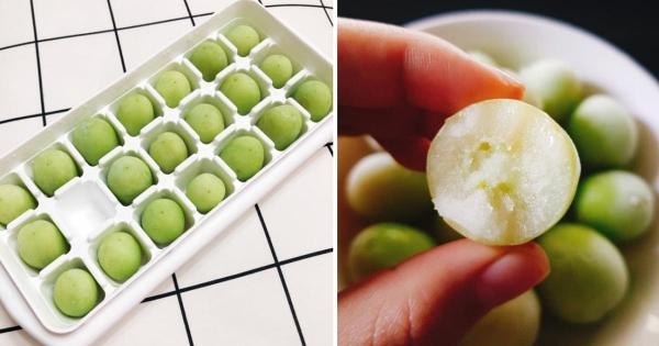 韓國IG吃貨新流行「冷凍青葡萄」 吃法百搭「一下肚整個透心涼」