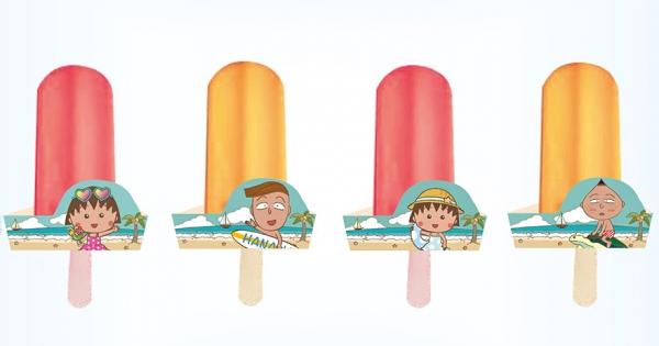 台灣限定「櫻桃小丸子水果冰棒」萌萌登場 加碼推「夏日海灘袋」粉絲都嗨了