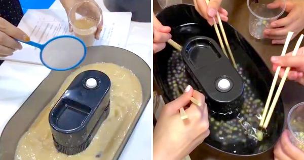 日本珍珠玩法又升級了! 新進化「流水撈珍珠大賽」想吃只能自己撈