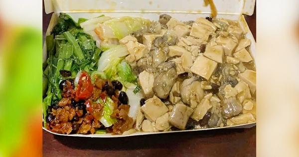 他買清粥小菜「豆腐鮮蚵拿到滿」 結帳「只要50元」佛到網友想朝聖