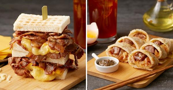 浮誇系早餐「半斤燒肉三明治」 肉控吃到爽:每一口都大滿足