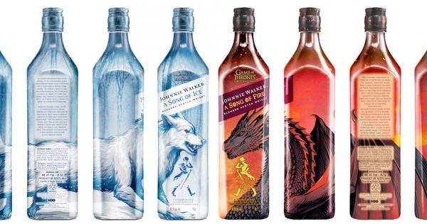 8瓶並排展示有夠帥! 約翰走路推全新冰火設計「權力遊戲威士忌」