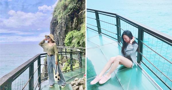 絕美「海上天空步道」全台唯一 往腳底下看就是大海「考驗網美的膽量」