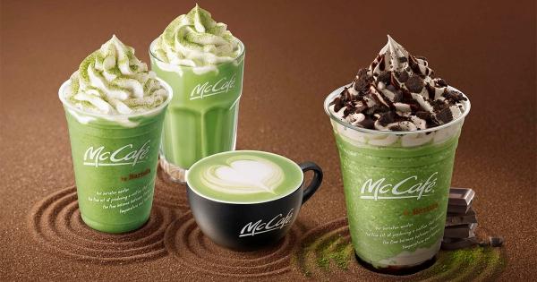 麥當勞宇治抹茶季! 醇香抹茶冰沙「搭上OREO脆片」這組合要怎麼不好吃~