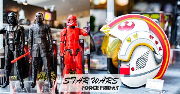 《星際大戰》限定店曝光獨家週邊! 「天行者1:1比例頭盔」戴上還會說話也太酷了吧~