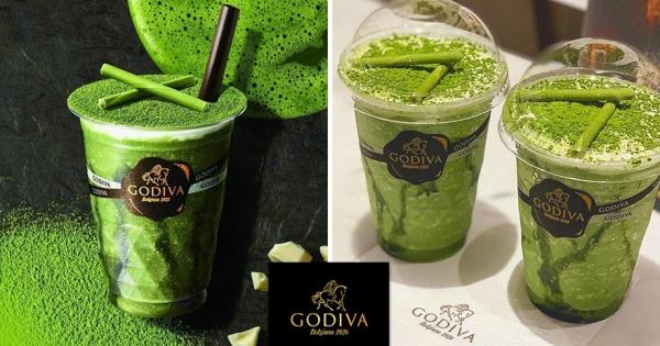 GODIVA為抹茶控推「宇治抹茶白巧克力」飲料 「甜蜜蜜味道」數量限定販售