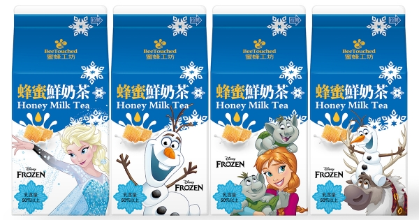 雪寶變飲料惹!小七推4款《冰雪奇緣》蜂蜜鮮奶茶 加碼午茶必備超萌杯墊