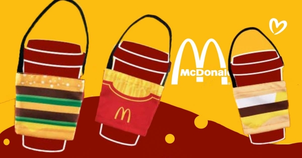 「漢堡、薯條控」就是要帶著走! 麥當勞獨家「可口可樂經典杯套」限時只送不賣!