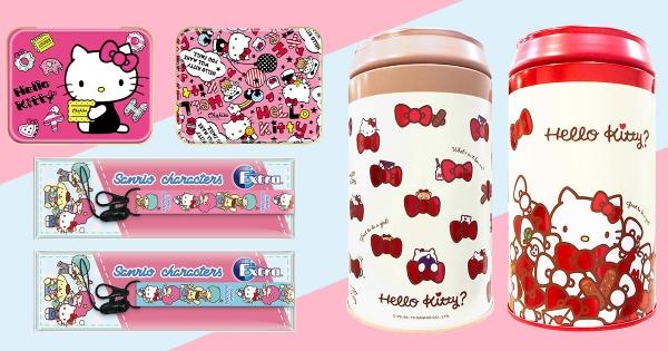 【全台】小7推「Hello Kitty零食」喚起少女心 獨家贈品「限定版掛繩」粉絲必搶