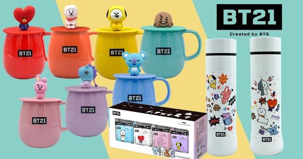 【全台】BT21鐵粉必收藏! 全家最新集點活動推:7色馬克杯、宇宙明星保溫杯