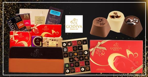 【全台】GODIVA推「新年限定禮盒」質感滿分 金鼠巧克力送人超有面子