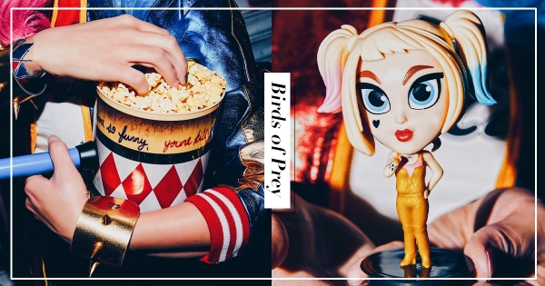 【全台】DC粉快衝!威秀推出「小丑女煞氣周邊」 大槌米花桶、軟球棍限量上市!