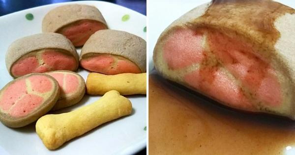 有食慾!「肉塊餅乾」還原半熟牛肉色調 網讚:像是餐廳菜