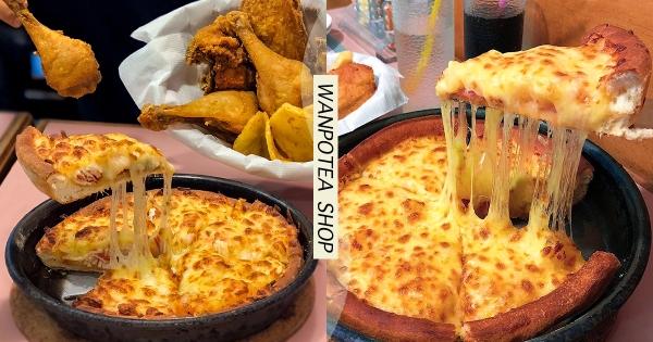 【台北】披薩就要會牽絲!人氣「鬆厚披薩」沒訂位吃不到 用料超大方「比餅皮還厚」